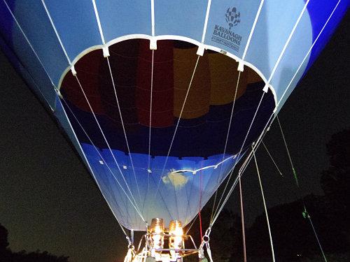 『熱気球に乗って光の地上絵を見よう!』@飛鳥光の回廊-19