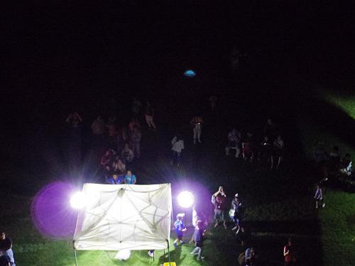 『熱気球に乗って光の地上絵を見よう!』@飛鳥光の回廊-21