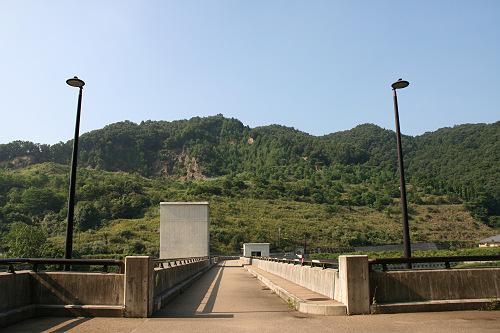 奈良県のダム『岩井川ダム』@奈良市-02