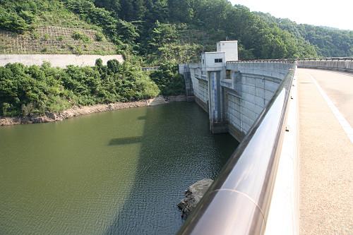 奈良県のダム『岩井川ダム』@奈良市-03