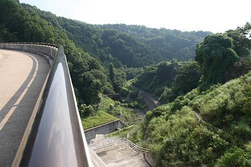奈良県のダム『岩井川ダム』@奈良市-06
