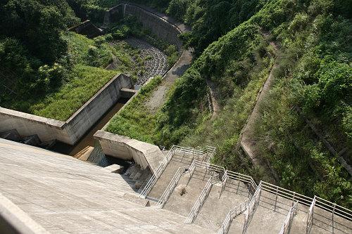 奈良県のダム『岩井川ダム』@奈良市-07