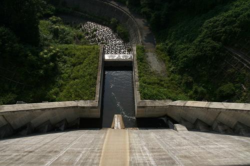 奈良県のダム『岩井川ダム』@奈良市-09