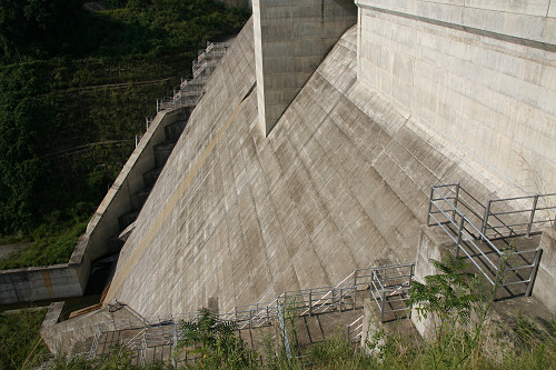 奈良県のダム『岩井川ダム』@奈良市-12