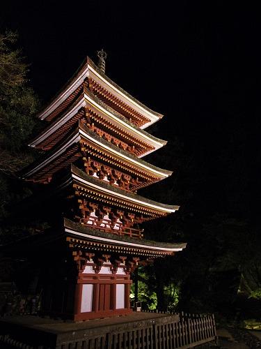 室生寺『国宝 五重塔と紅葉ライトアップ』@宇陀市-21