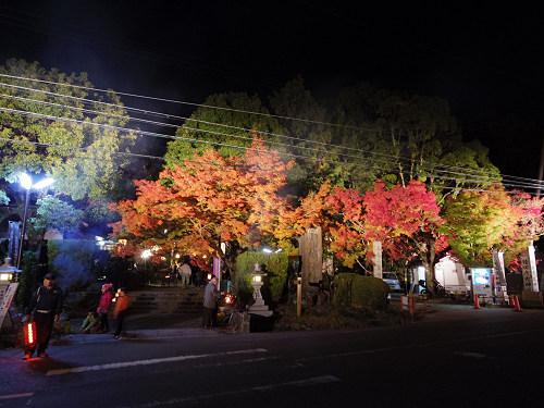 紅葉ライトアップ『等彌神社』@桜井市-03