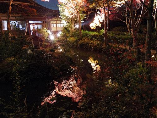 紅葉ライトアップ『等彌神社』@桜井市-07