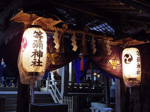 紅葉ライトアップ『等彌神社』@桜井市-18