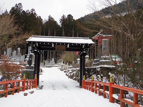 【写真】洞川の冬の初めの雪景色@天川村-02