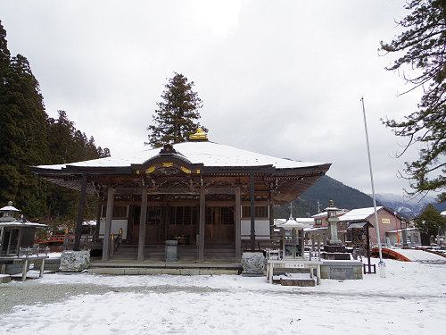 【写真】洞川の冬の初めの雪景色@天川村-14