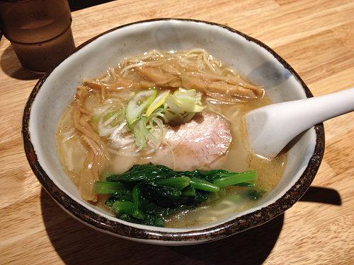 多彩な魚介使いの絶品ラーメン『ハナヤマZ』@田原本町