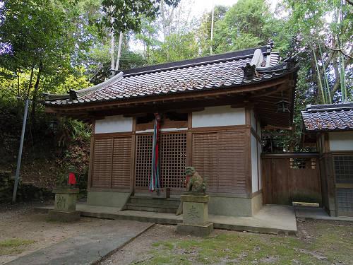 石床神社・消渇神社@平群町-05