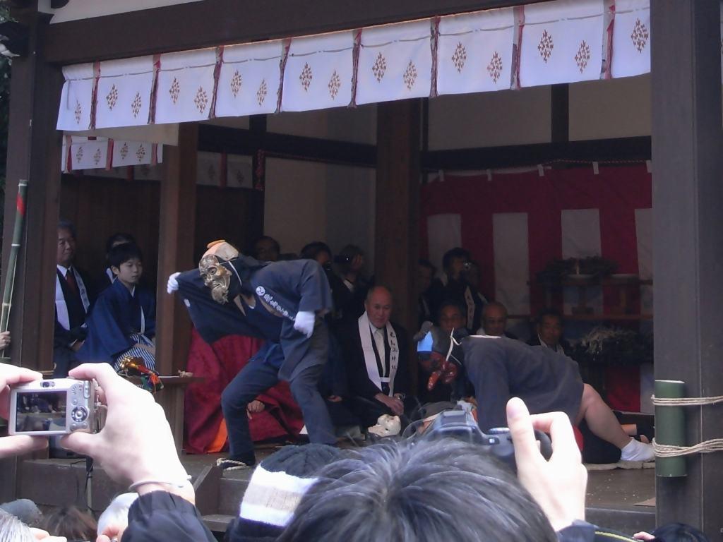 おんだ祭@飛鳥坐神社(明日香村)-11