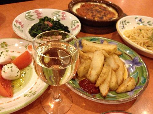ワインも料理も安い!イタリアンファミレス『サイゼリヤ』