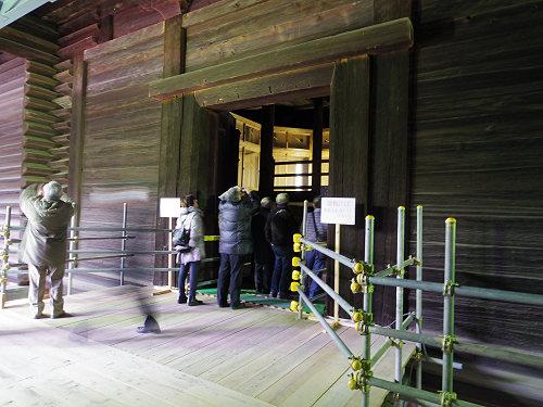 これが最後!第5回『正倉院正倉』工事現場を見学しました