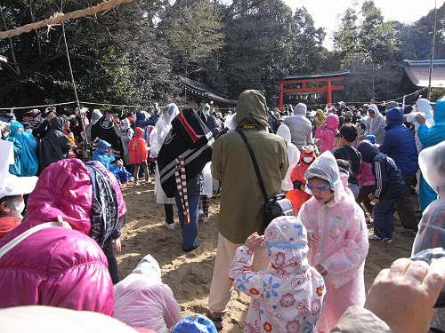 砂かけ祭り@廣瀬大社(河合町)-10