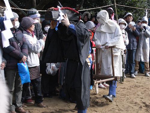 砂かけ祭り@廣瀬大社(河合町)-11