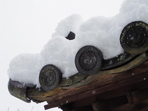 當麻寺の雪景色(西南院)-05
