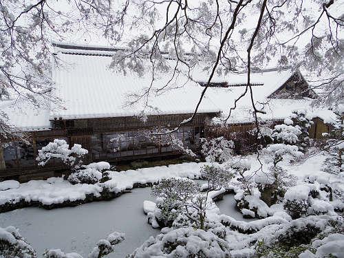 當麻寺の雪景色(西南院)-15