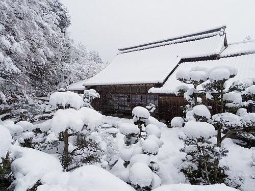 當麻寺の雪景色(西南院)-17