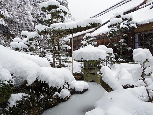 當麻寺の雪景色(西南院)-19
