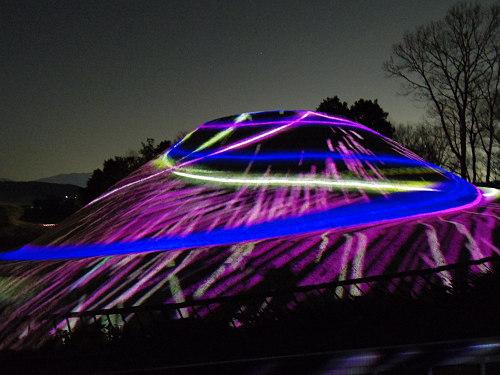 『360°プロジェクションマッピング IN 高松塚古墳』@明日香村