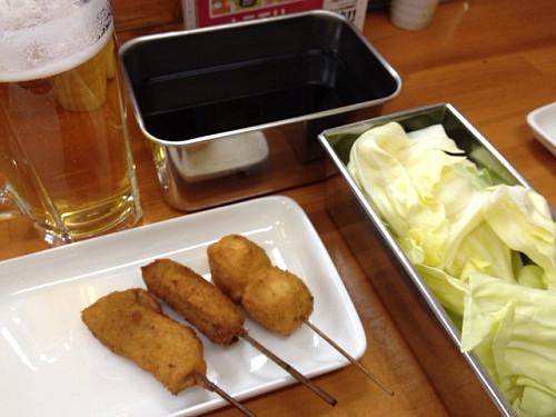 高田市駅で味わう新世界風の串かつ『串まさ』@大和高田市