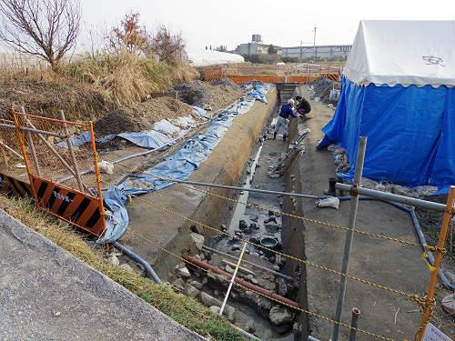 箸墓古墳と同時期の『ヒエ塚古墳』発掘調査現場@天理市
