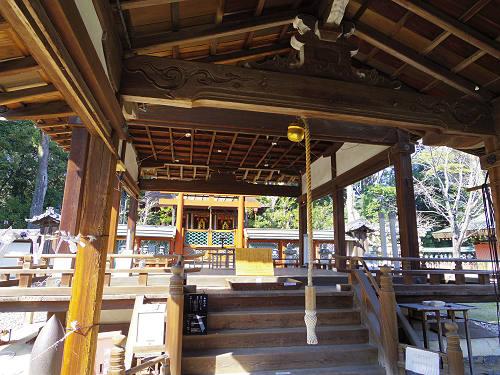 「奈良の一番桜」枝垂れ桜@氷室神社(奈良市)-09