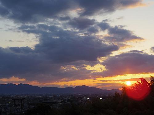 桜満開の『大美和の杜展望台』@大神神社-15
