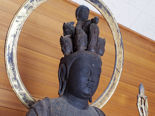 重文・十一面観音像のおわす無住寺『置恩寺』@葛城市寺口