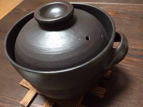 買って良かったもの「炊飯用土鍋」-01