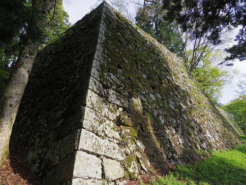 美しい石垣が遺る巨大な山城跡『史跡 高取城跡』@高取町