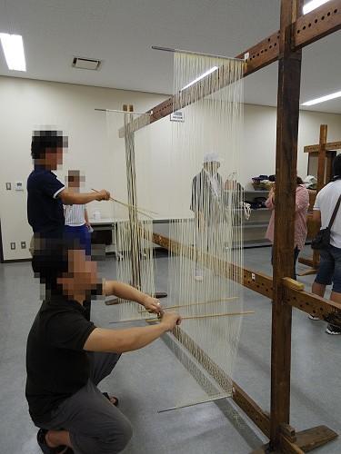 そうめん手延べ体験@三輪そうめん山本(桜井市-15