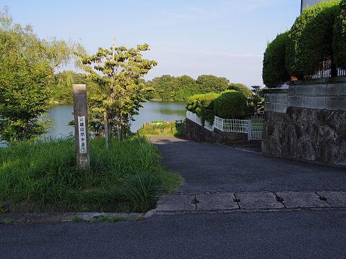 『二上山を眺望できる旗尾池湖畔』@香芝市-07