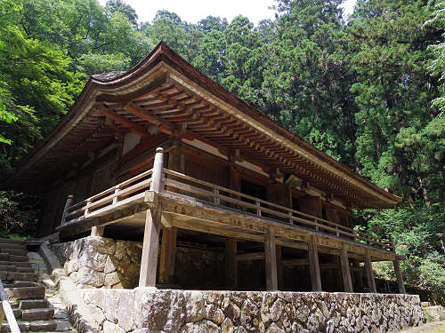 寺宝が仙台出張中の『室生寺』。涼しくゆったり過ごせます