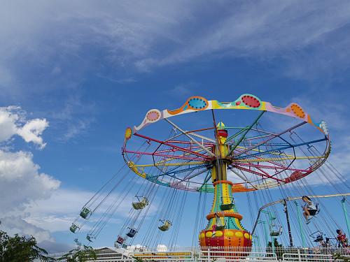 大人も遊べるレトロスポット『生駒山上遊園地』@生駒市