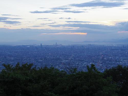 大阪平野の夜景@生駒山上遊園地-05