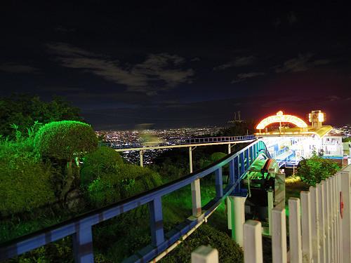 大阪平野の夜景@生駒山上遊園地-21