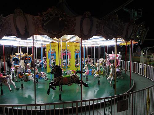 大阪平野の夜景@生駒山上遊園地-25