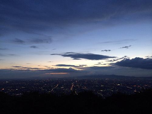 大阪平野の夜景@生駒山上遊園地-29