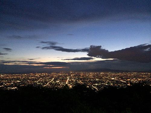 大阪平野の夜景@生駒山上遊園地-30