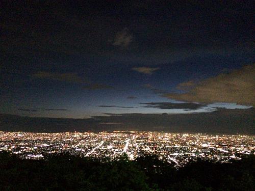 大阪平野の夜景@生駒山上遊園地-31