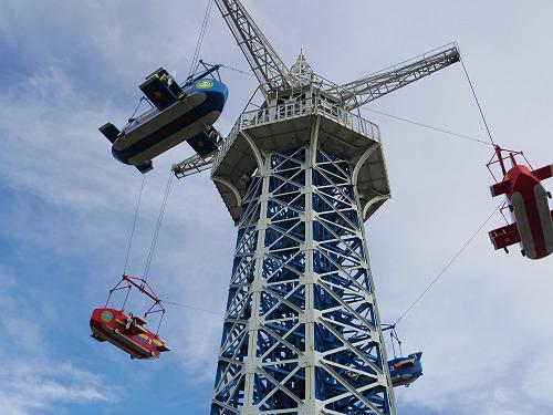 大型遊具『飛行塔』@生駒山上遊園地-03