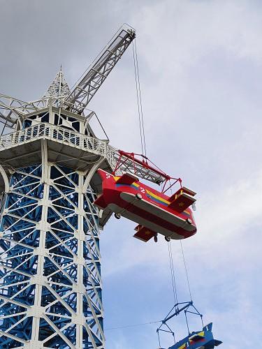 大型遊具『飛行塔』@生駒山上遊園地-04