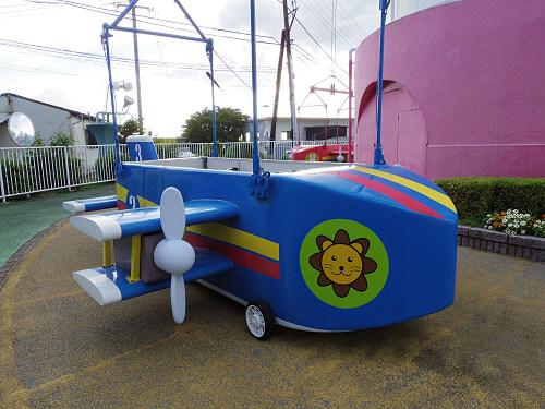 大型遊具『飛行塔』@生駒山上遊園地-05