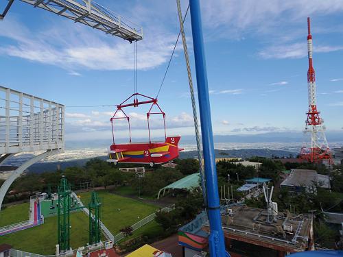 大型遊具『飛行塔』@生駒山上遊園地-08