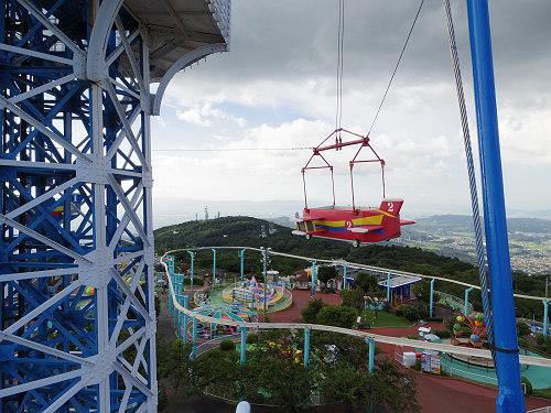 大型遊具『飛行塔』@生駒山上遊園地-09