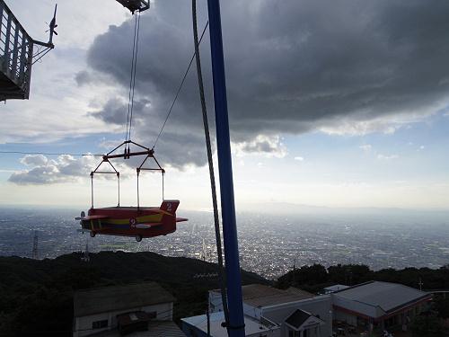 大型遊具『飛行塔』@生駒山上遊園地-10