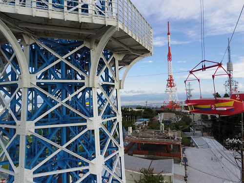大型遊具『飛行塔』@生駒山上遊園地-11